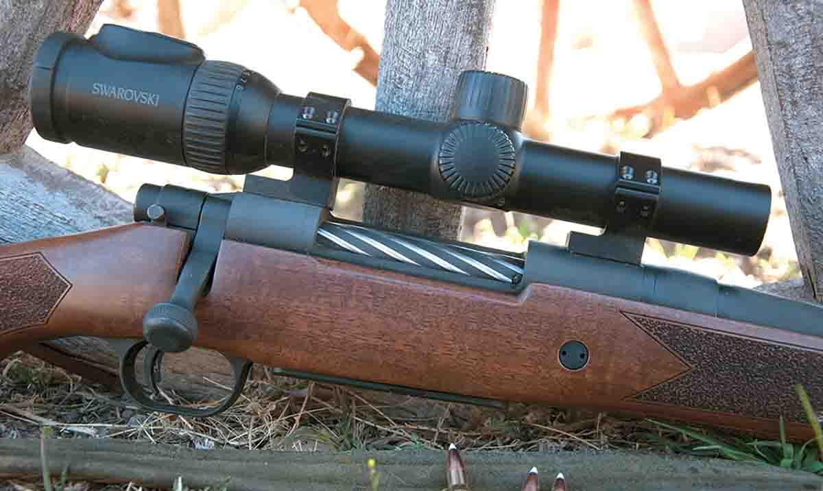 Swarovski's Z8i 1-8x 24mm scope was designed for use on dangerous game rifles but served admirably on two different rifles used during three western big-game hunts, proving its wide versatility.