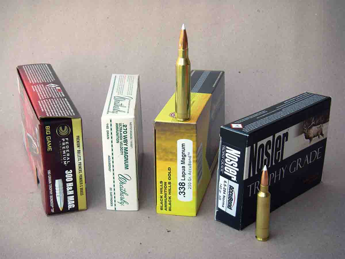 Factory ammunition has been steadily improved, with some loads designed to enhance performance at long range.