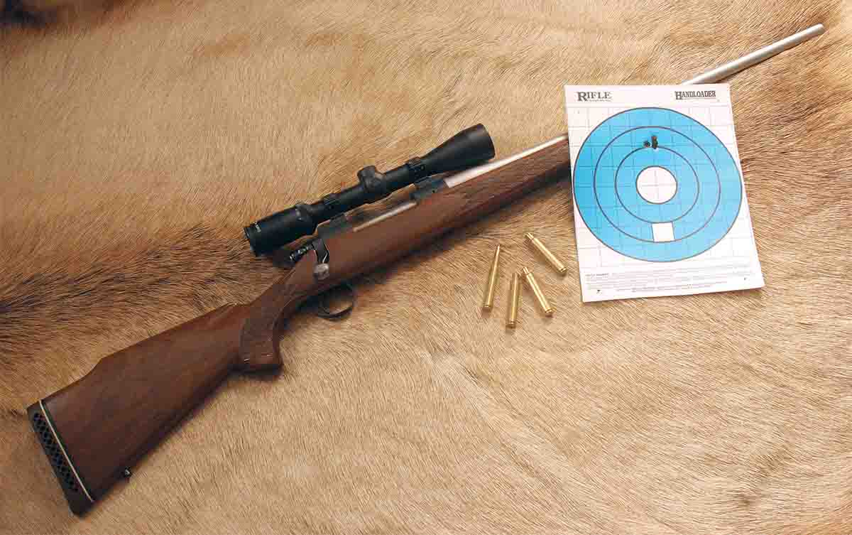 John's latest project is a Remington 700 .280 Ackley Improved with a Douglas barrel.
