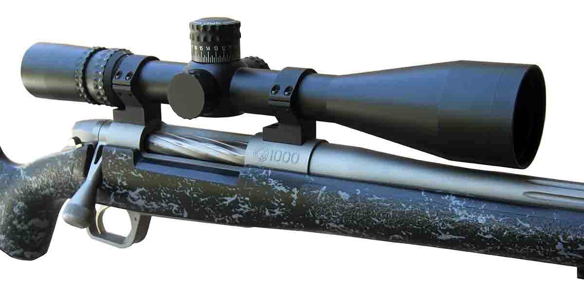 "The Nightforce NXS 5.5-22x 50mm G7 scope features high-quality optics, positive click adjustments and a zero stop. It is an excellent choice for hunters who want to ""dial"" in the field."