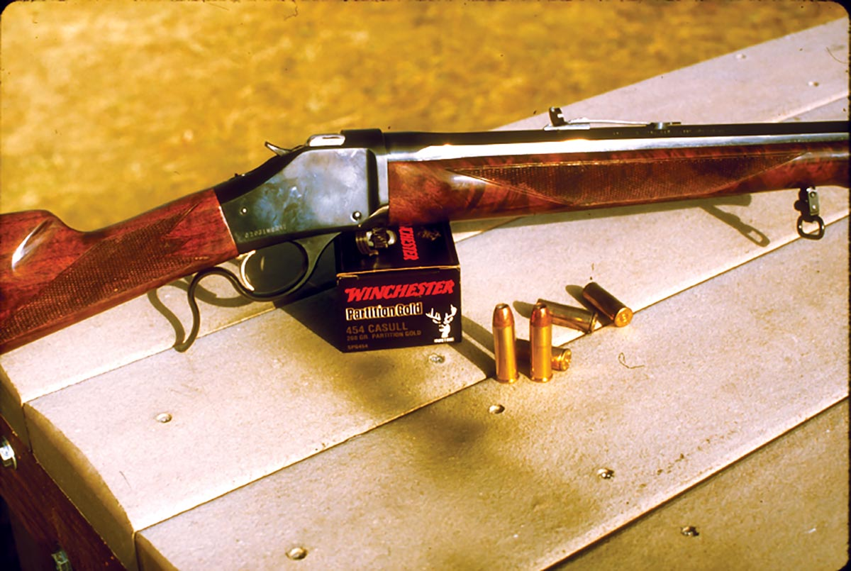 Browning introduced many Sporting versions of its Model 1885 High Wall.