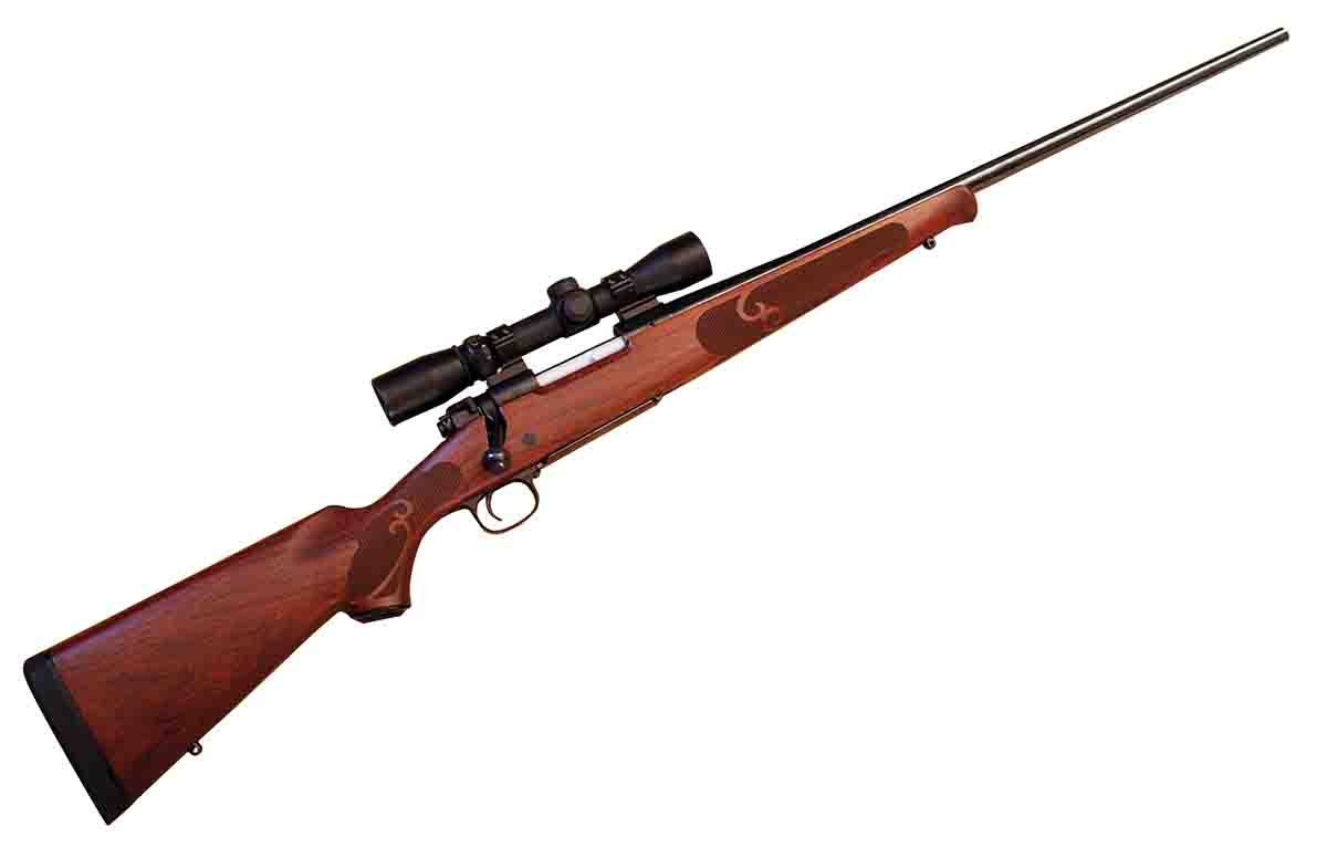This Winchester Model 70 .300 WSM with a Burris 3-9x 40mm Short Mag scope was accurized by Hill Country Rifles.