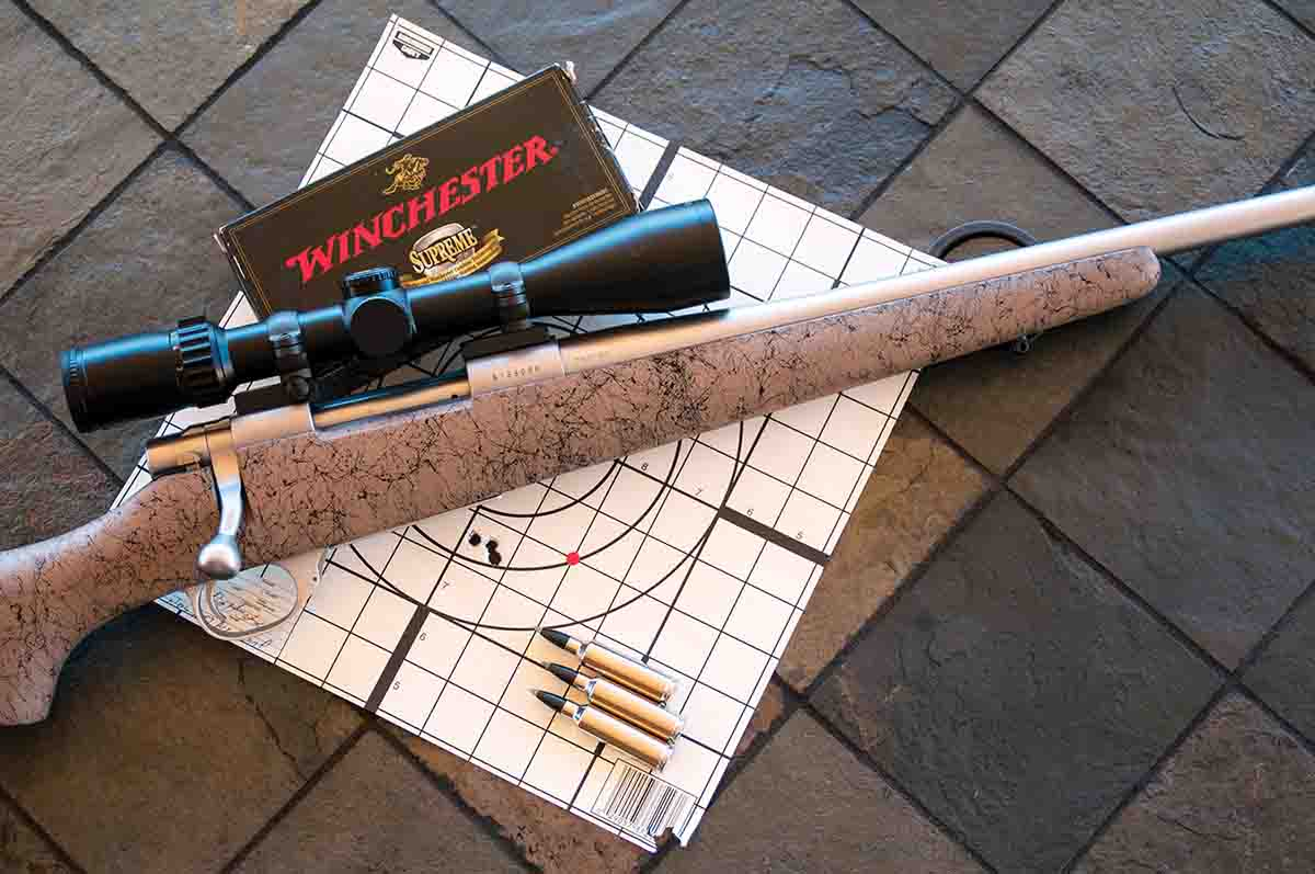 This older Model 1500 7mm Winchester Short Magnum was accurate, as are most Howa bolt-action rifles.