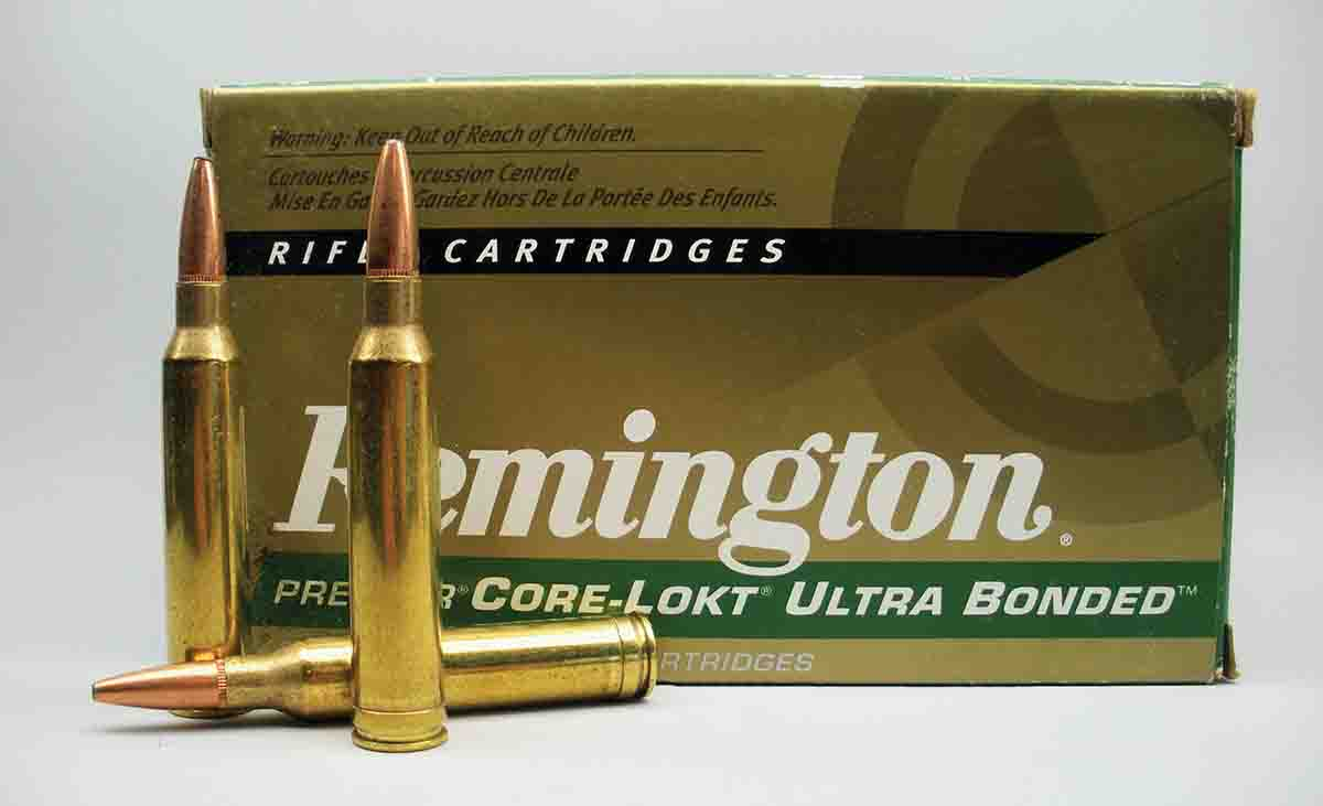Remington's 7mm Remington Magnum factory loads evolved from the Core-Lokt to Ultra Bonded to ensure high weight retention.