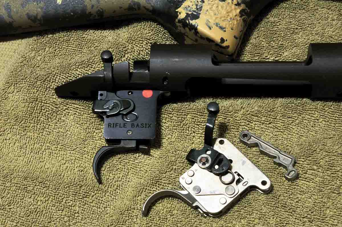 Rifle Basix makes a wide selection of adjustable replacement triggers for a variety of rifles such as this Remington Model 700 .308 Winchester.