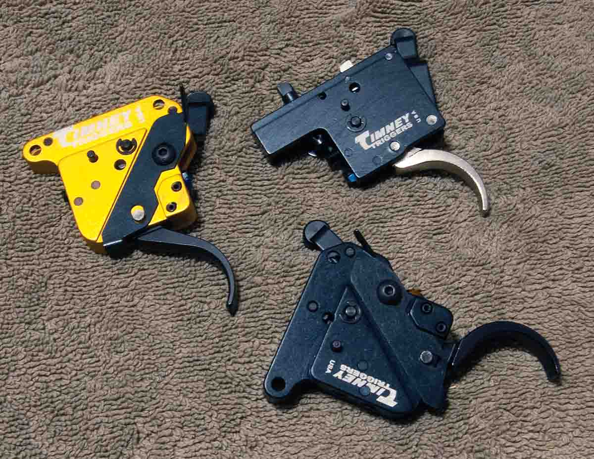 Timney provides aftermarket triggers for just about any rifle made.