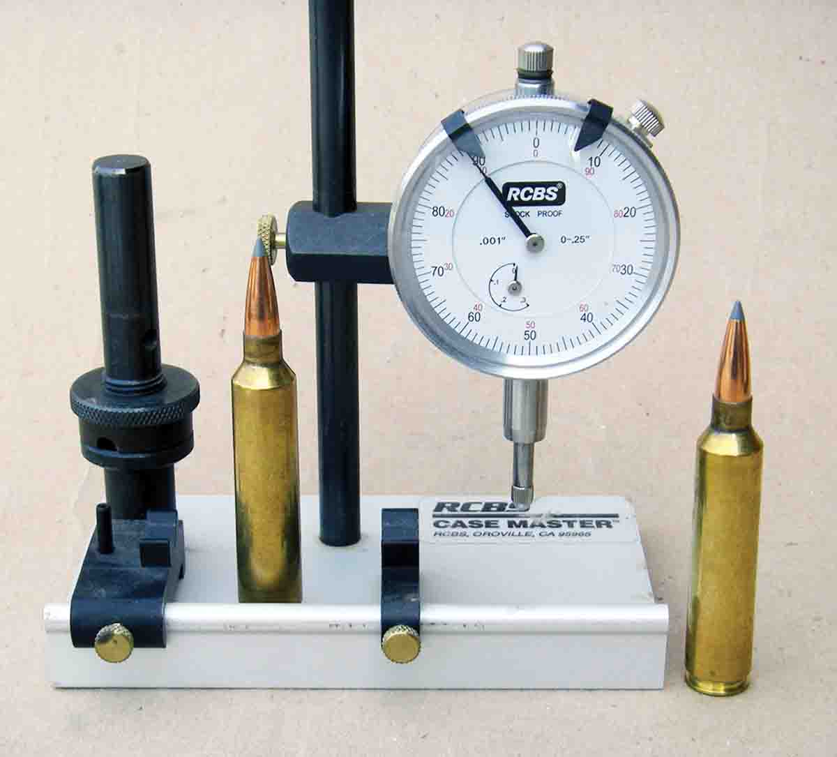 Checking cartridges for excessive runout can be highly beneficial to accuracy.