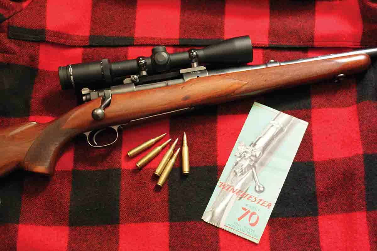 Winchester brochures described the new features of the then-new Model 70.