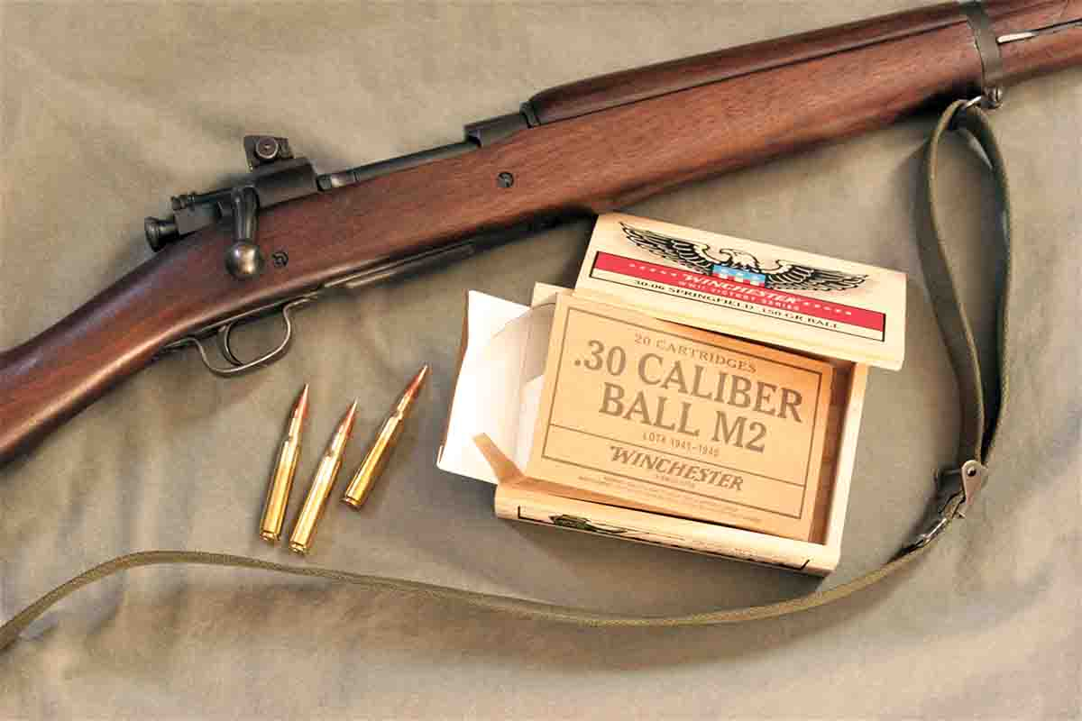 Winchester's commemorative M2 Ball was one of three kinds of ammunition tested.