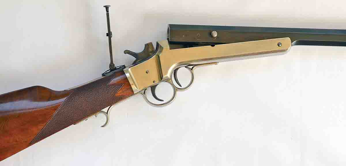 The F. Wesson tip-up .32-40 was one of the lesser known models of the 1800s – but very good nonetheless.
