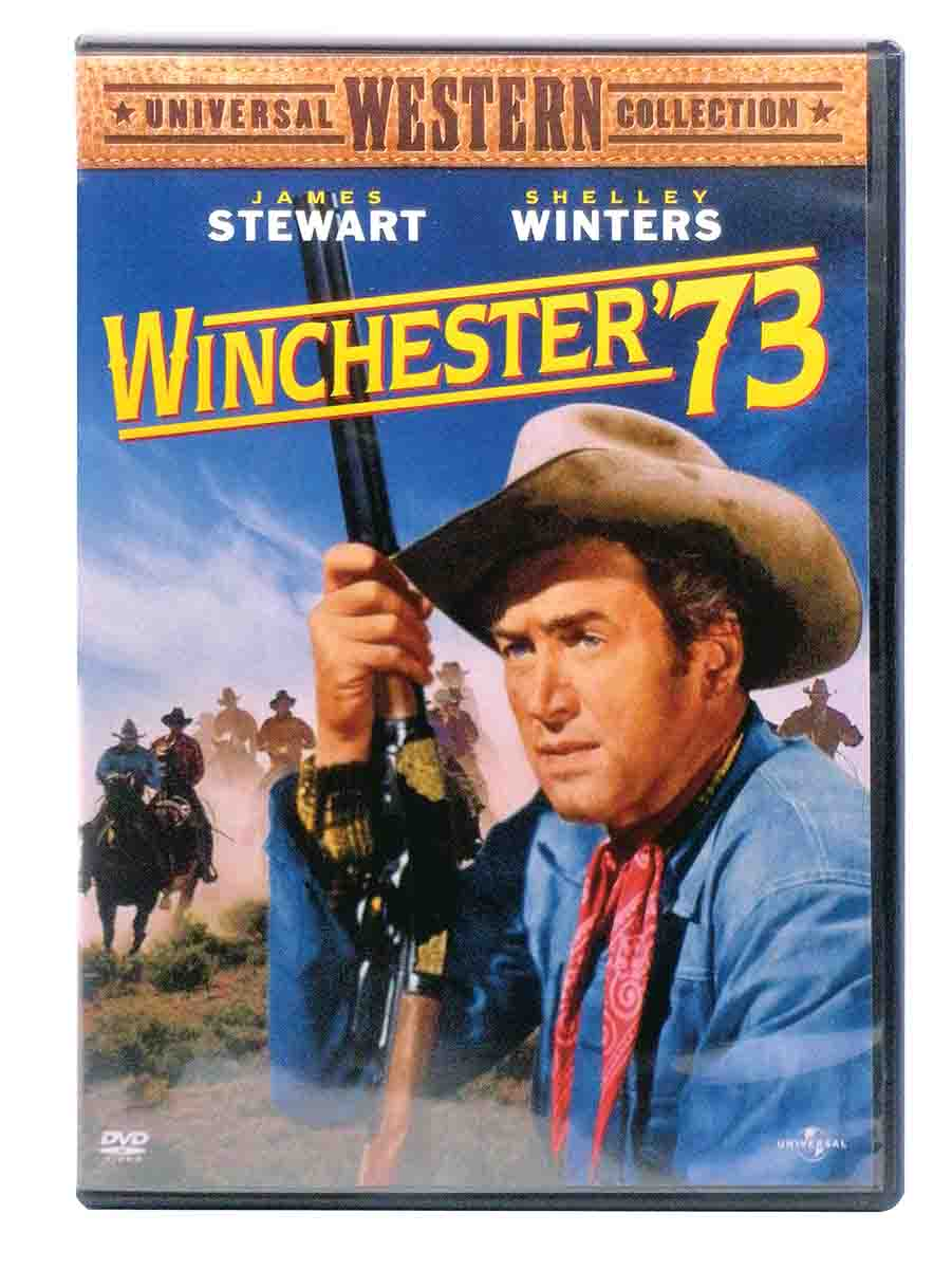 The Winchester '73 provided the inspiration for the 1950 movie of the same name, starring James Stewart.