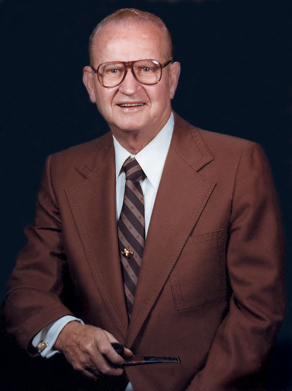 The founder of the company, Roy E. Weatherby.