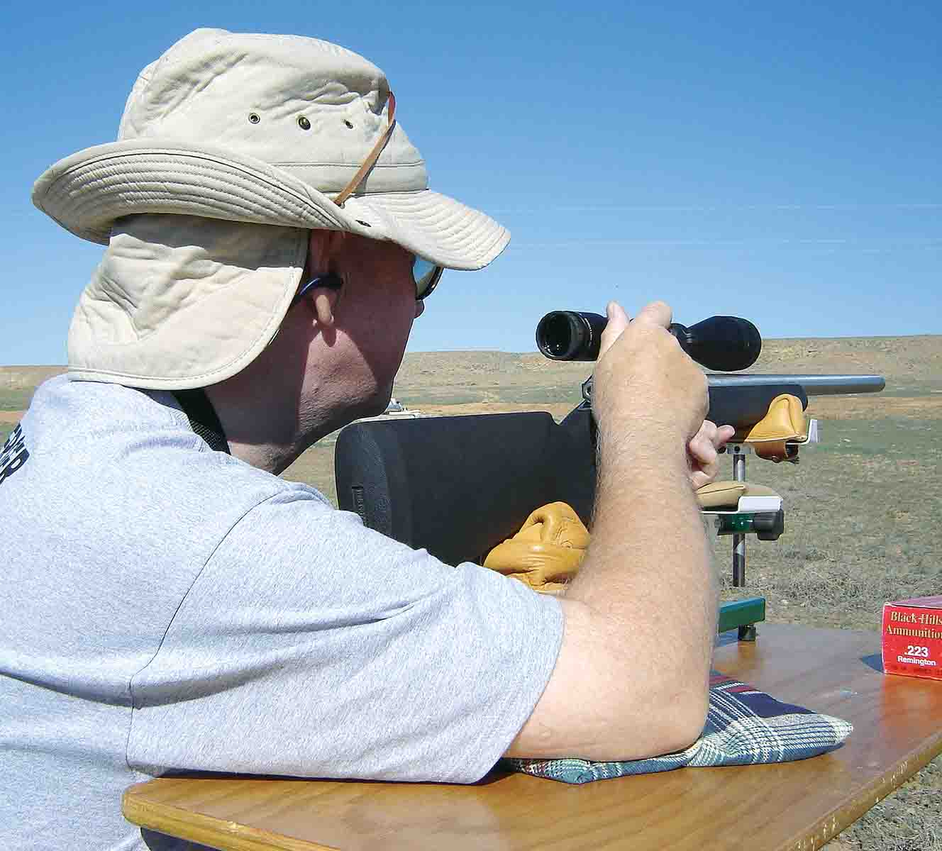 Rees tested prototype Varmint Grenades on Utah prairie dogs.