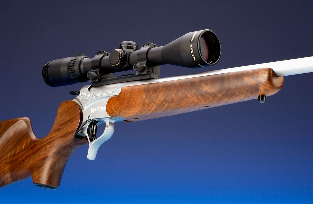 When it came to the .222 Remington Magnum, Trzoniec had the pleasure of running it through many loads with the Thompson Center Encore. The gun had a stainless finish and a 26-inch barrel.