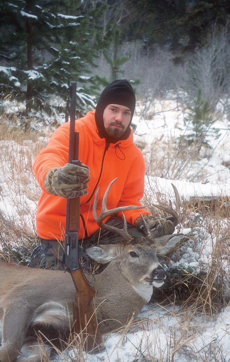 The same rifle and cartridge are not too big for whitetails.